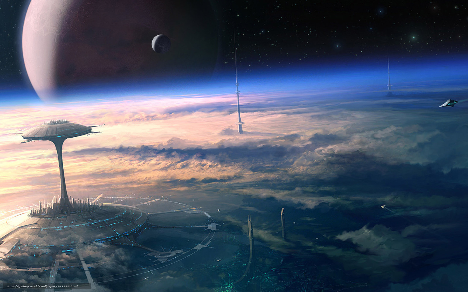 the earths place in space