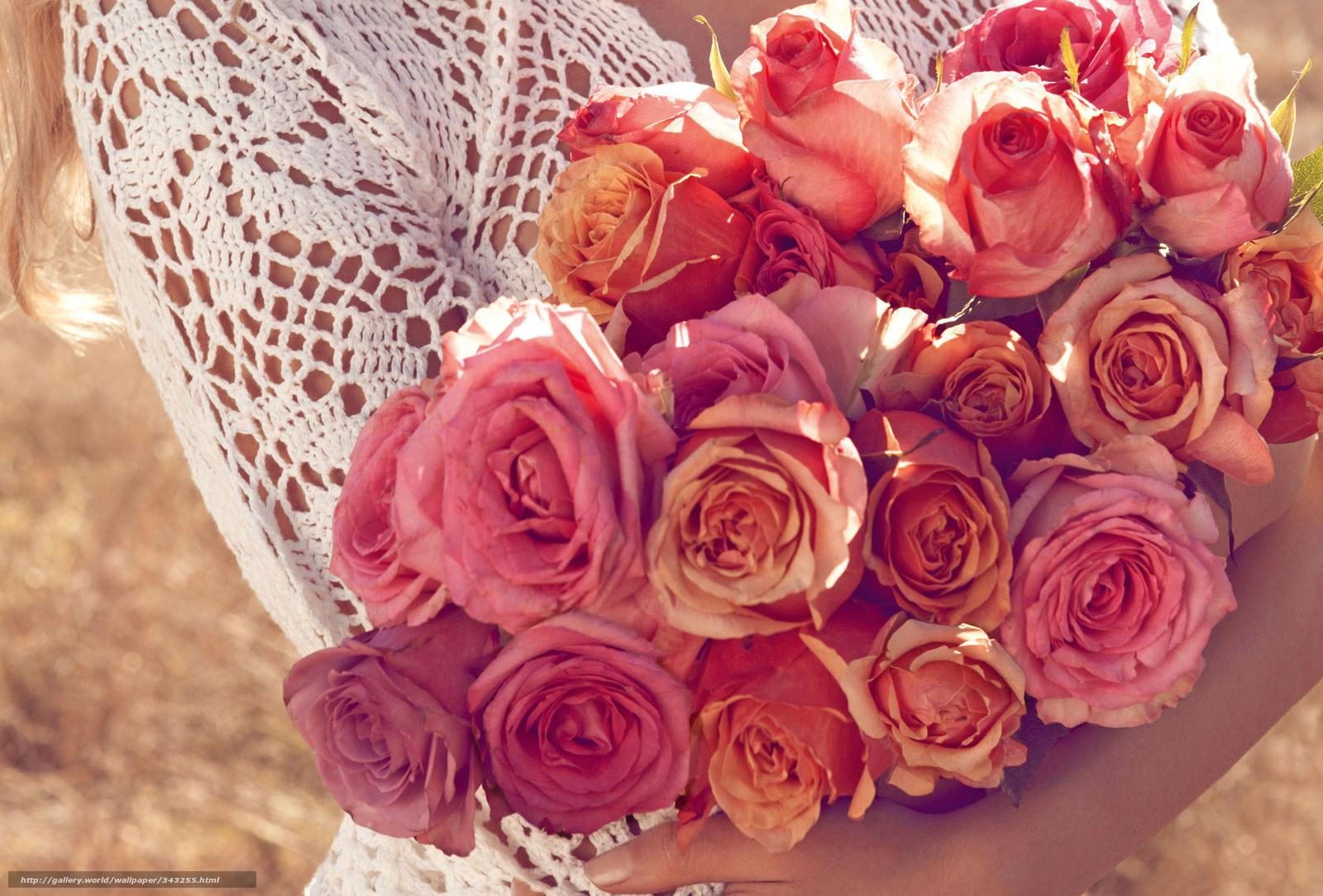 Скачать розы горшки на окне высокое качество обои 1024x768