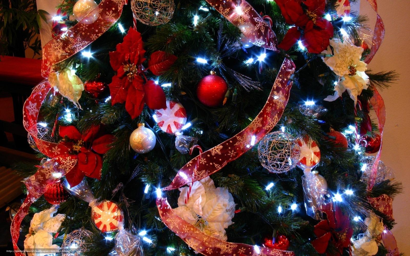 Как украсить елку в на новый год
