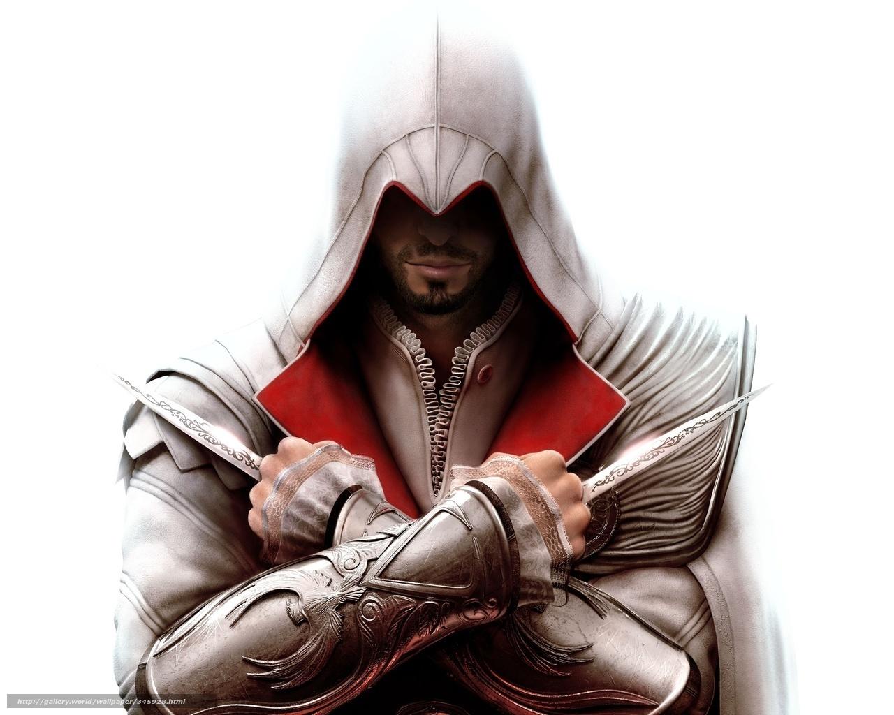 assassins creed, эцио, убийца, клинки, игра