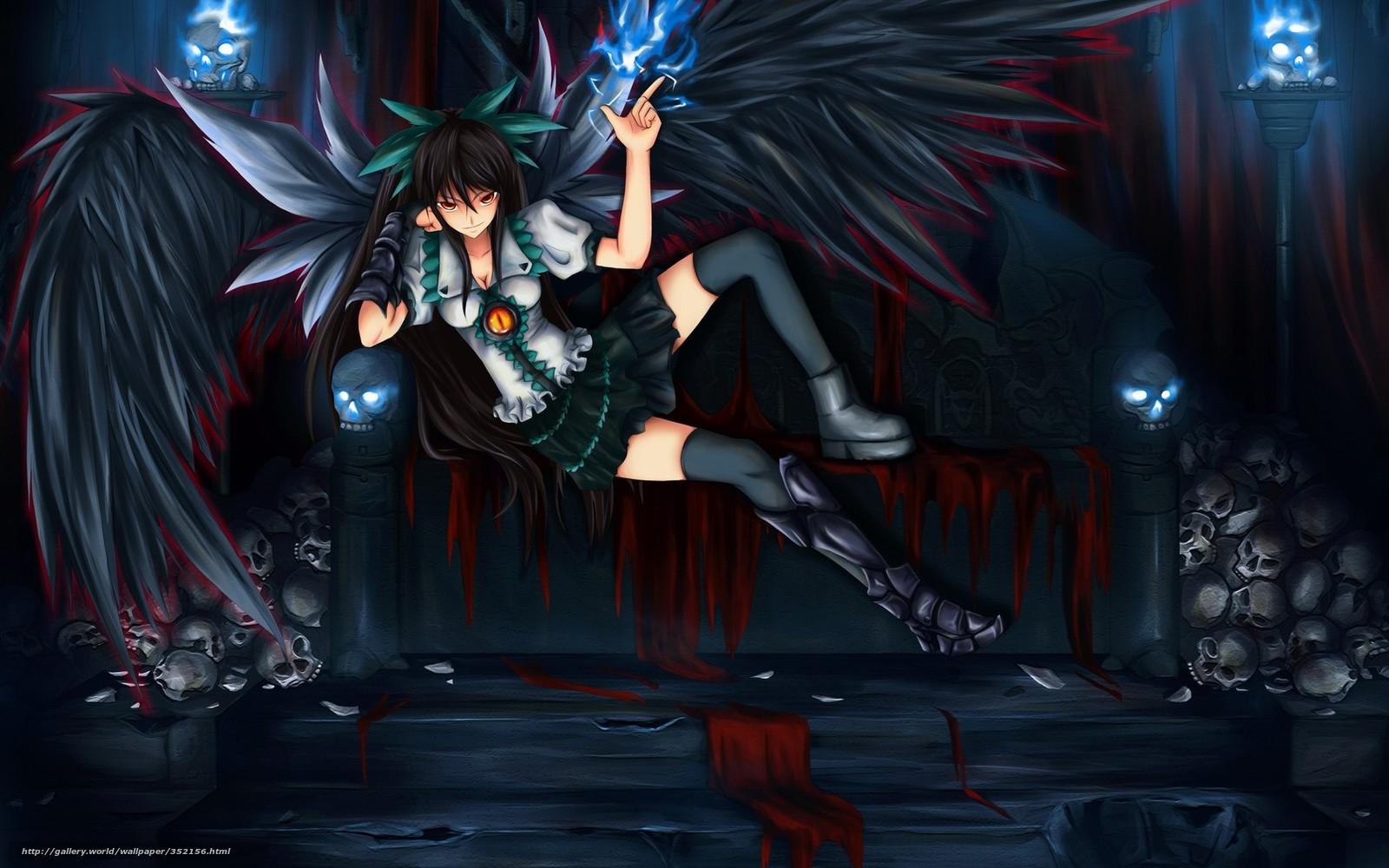 Фото аниме девушек дьяволов