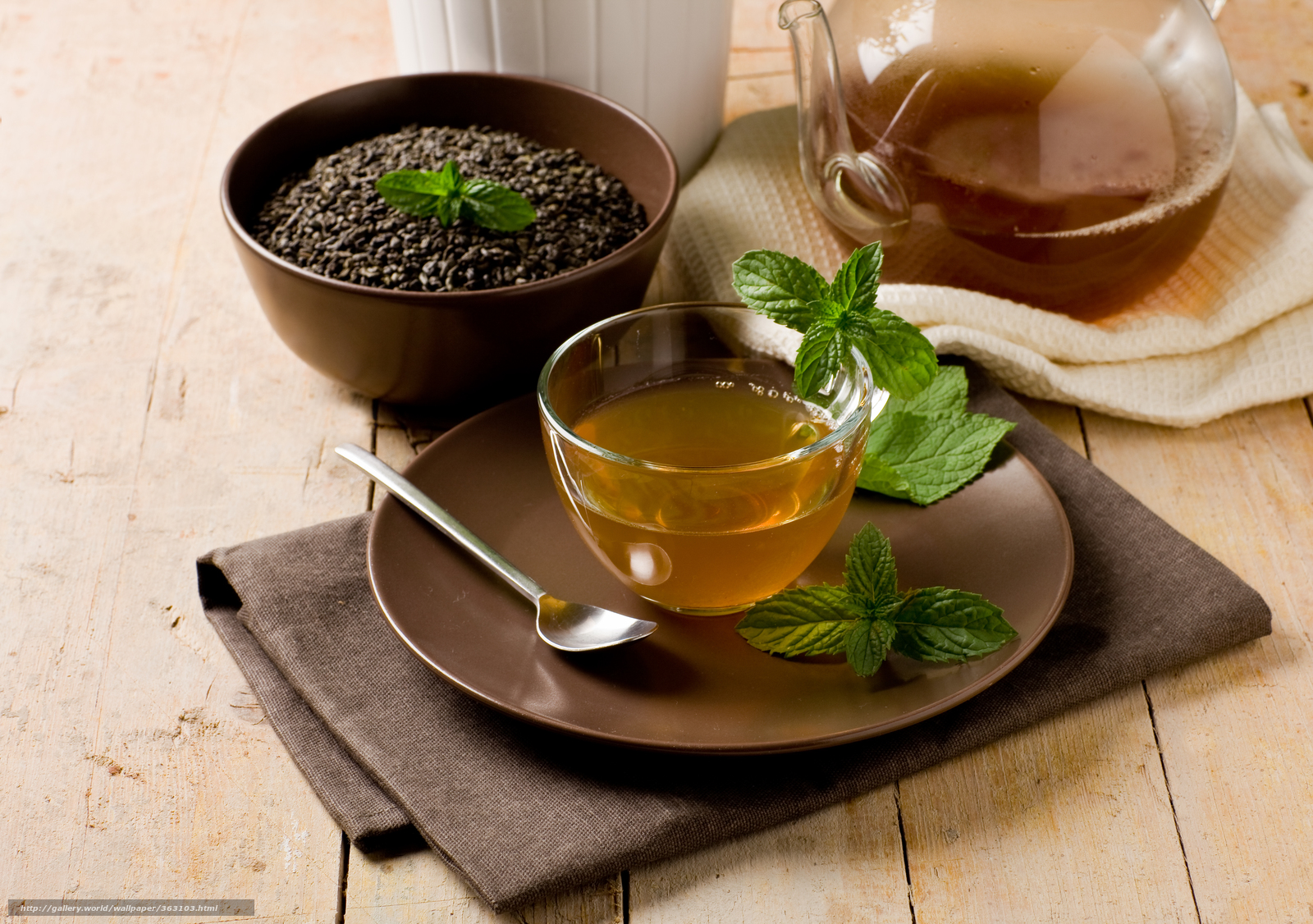 Мята для заварки в чай