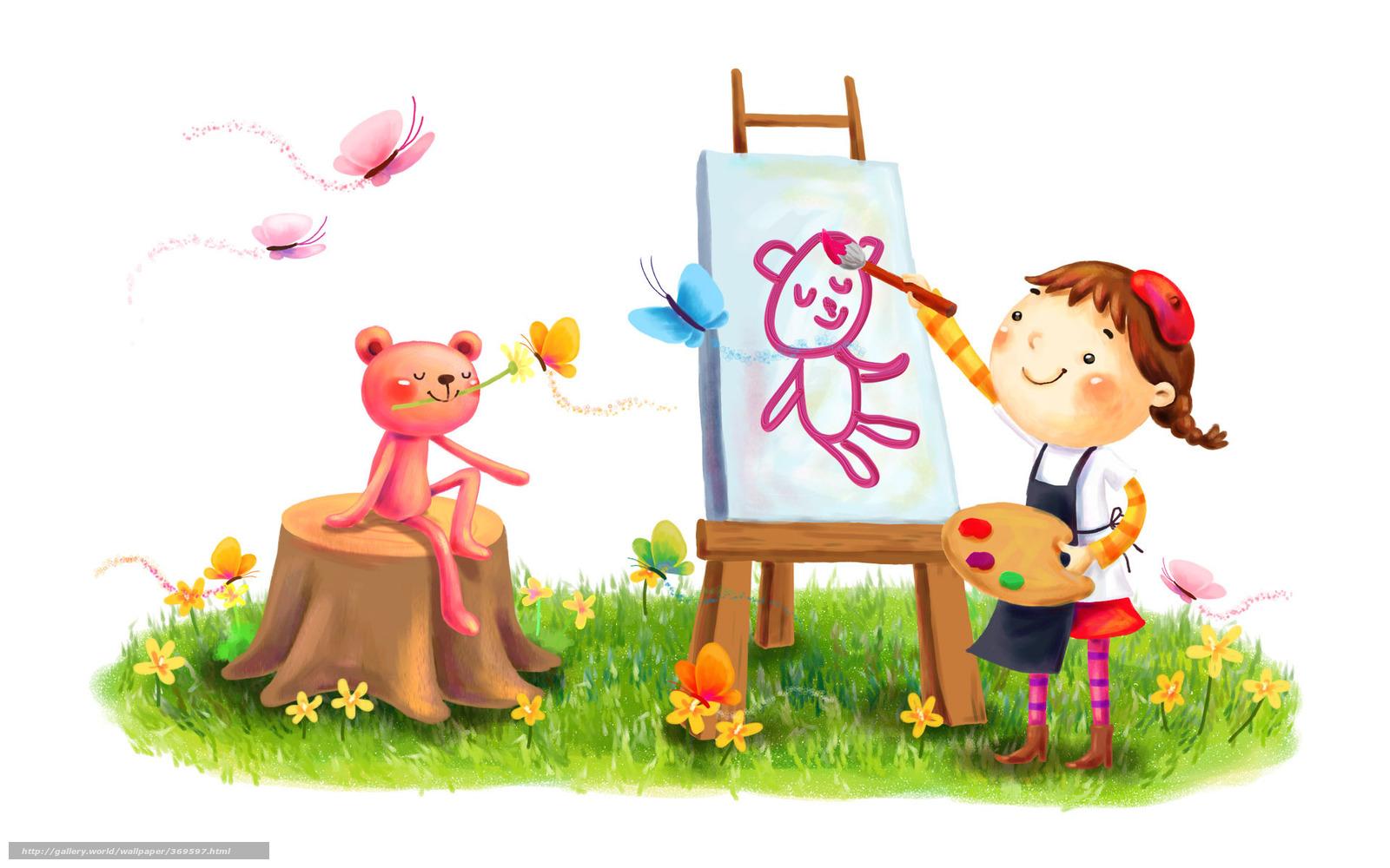 рисунки детей колыбельная