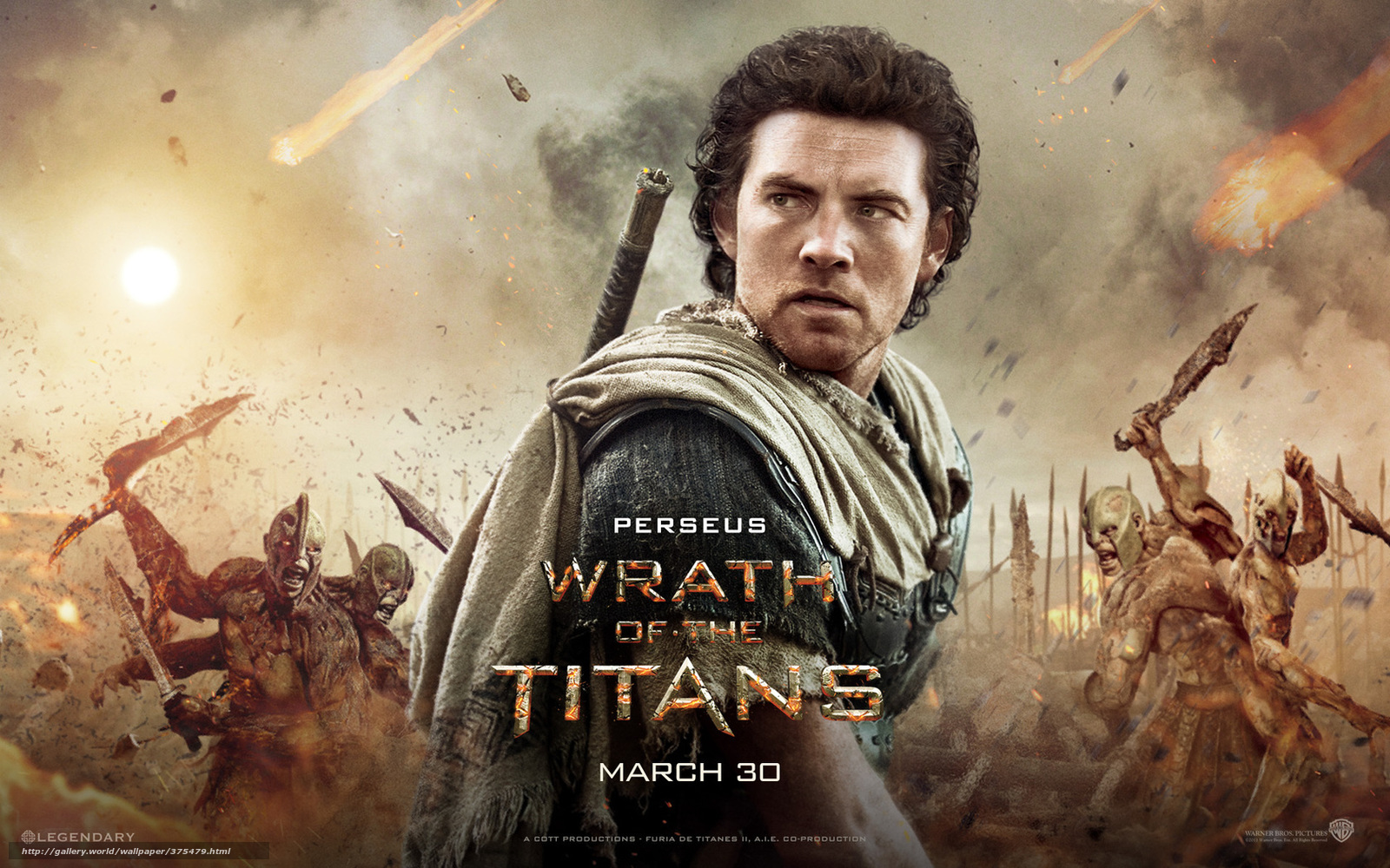 Wrath of the titans titans