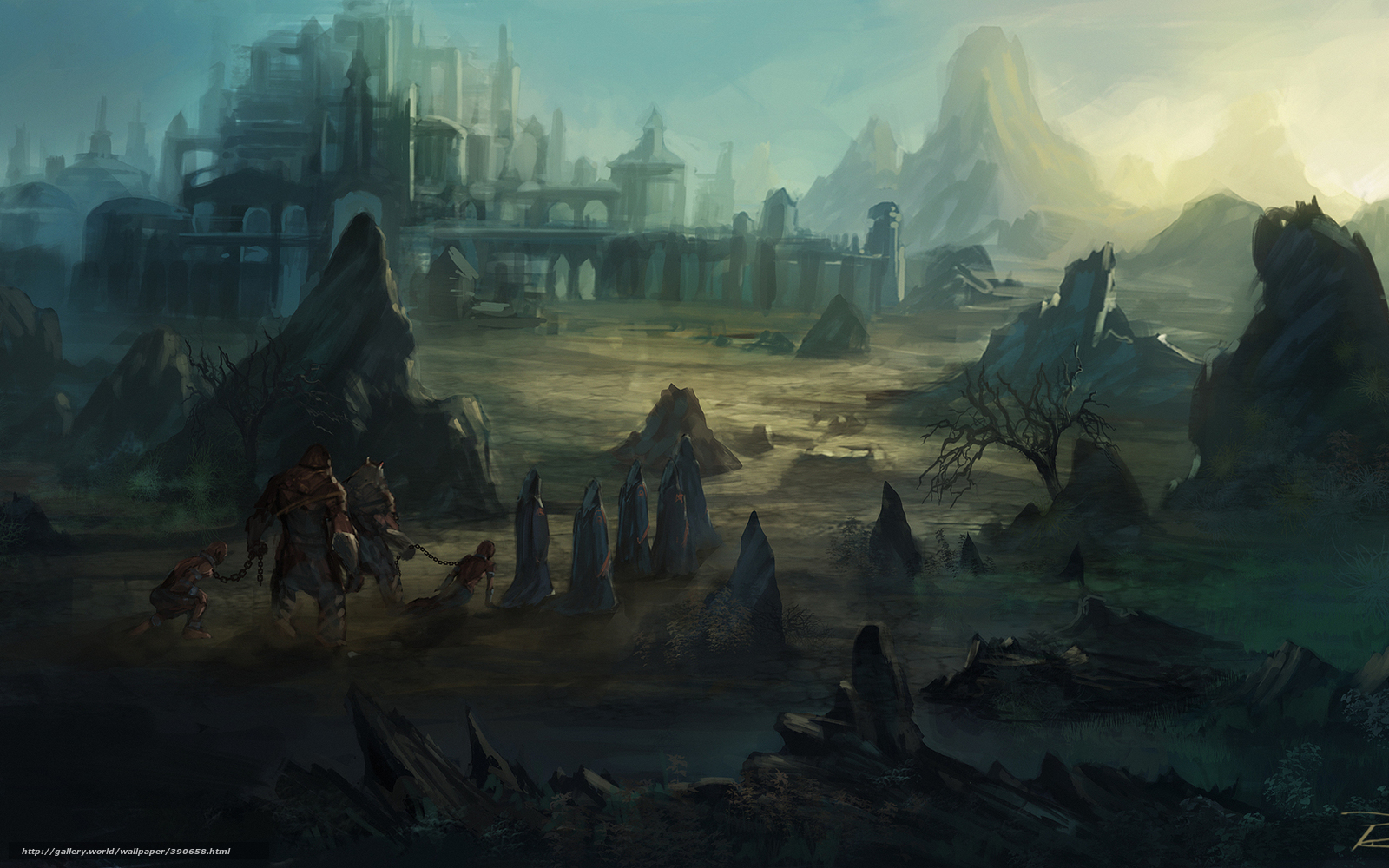 Fantasy slave town hentia comics