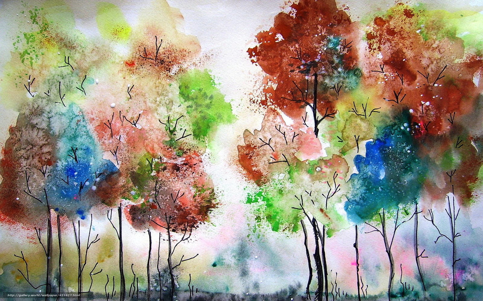 Краска которой рисуют осень 4 буквы