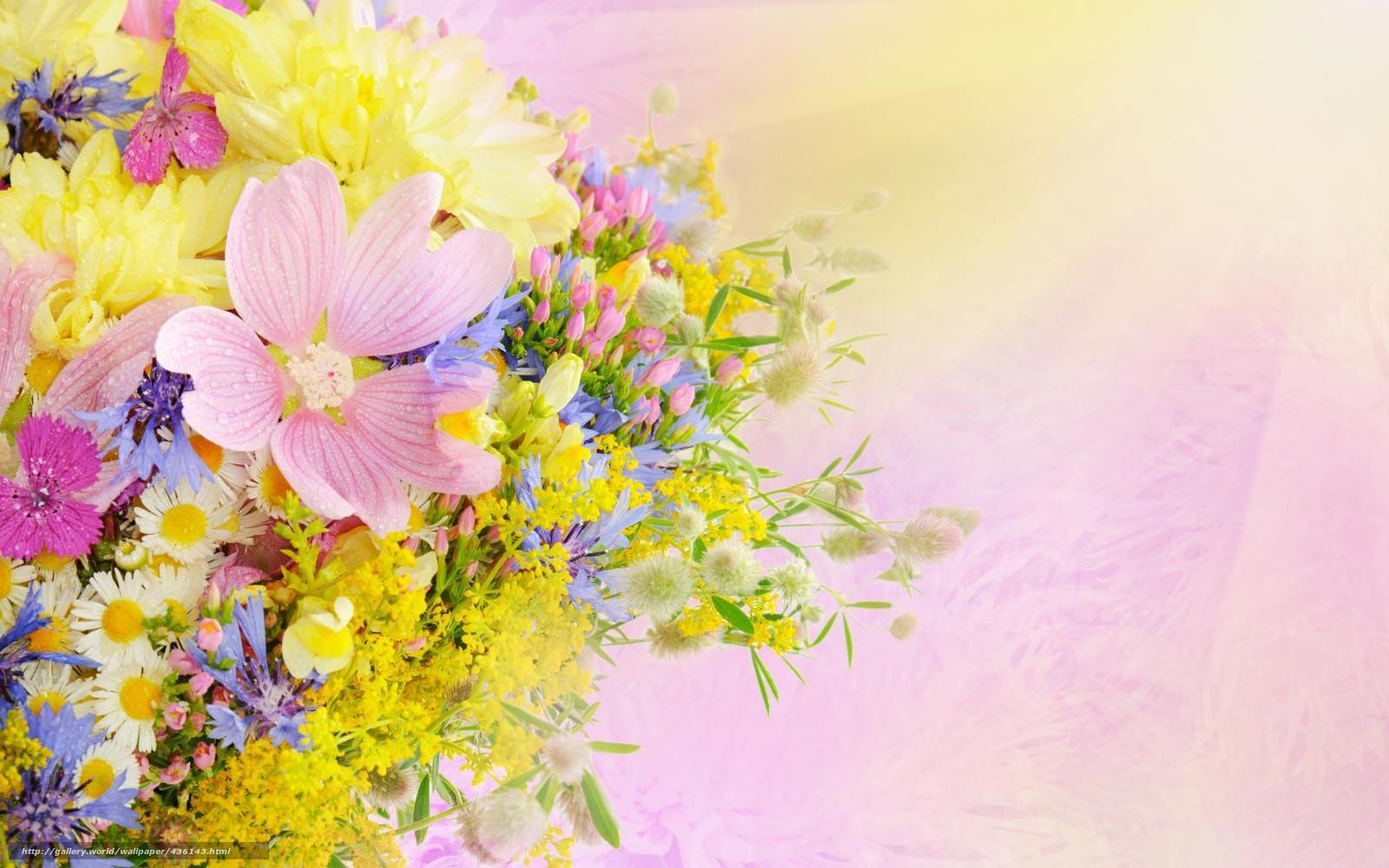 Открытки на день рождения весенние цветы