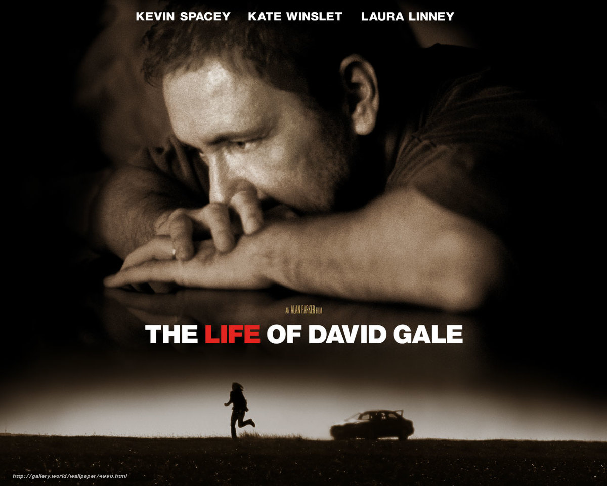 the life of david gale film The life of david gale is a 2003 american drama film directed by alan parker (in his final film as a director) and written by charles randolph the film is an international co-production , between the united states , germany and the united kingdom.