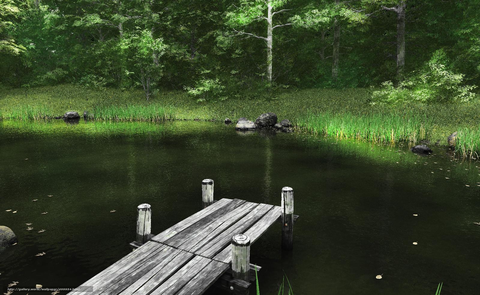 Как сделать озеро на реке 925