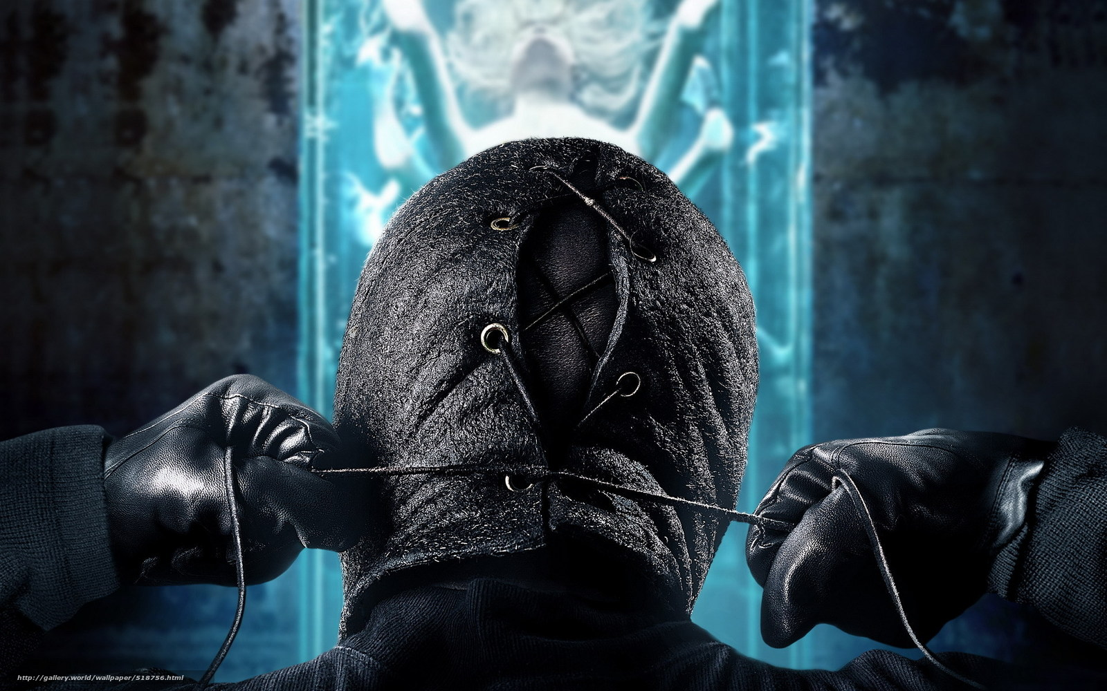 Ужас про людей в масках 162