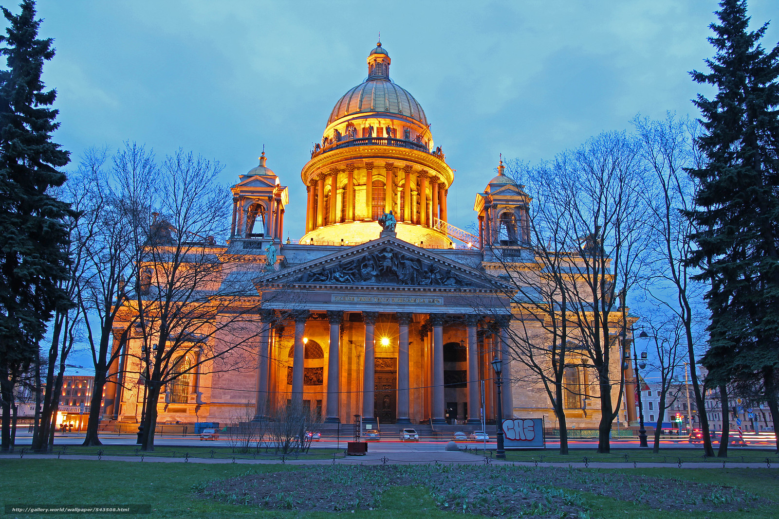 St. Isaac's Cathedral, petersburg, city