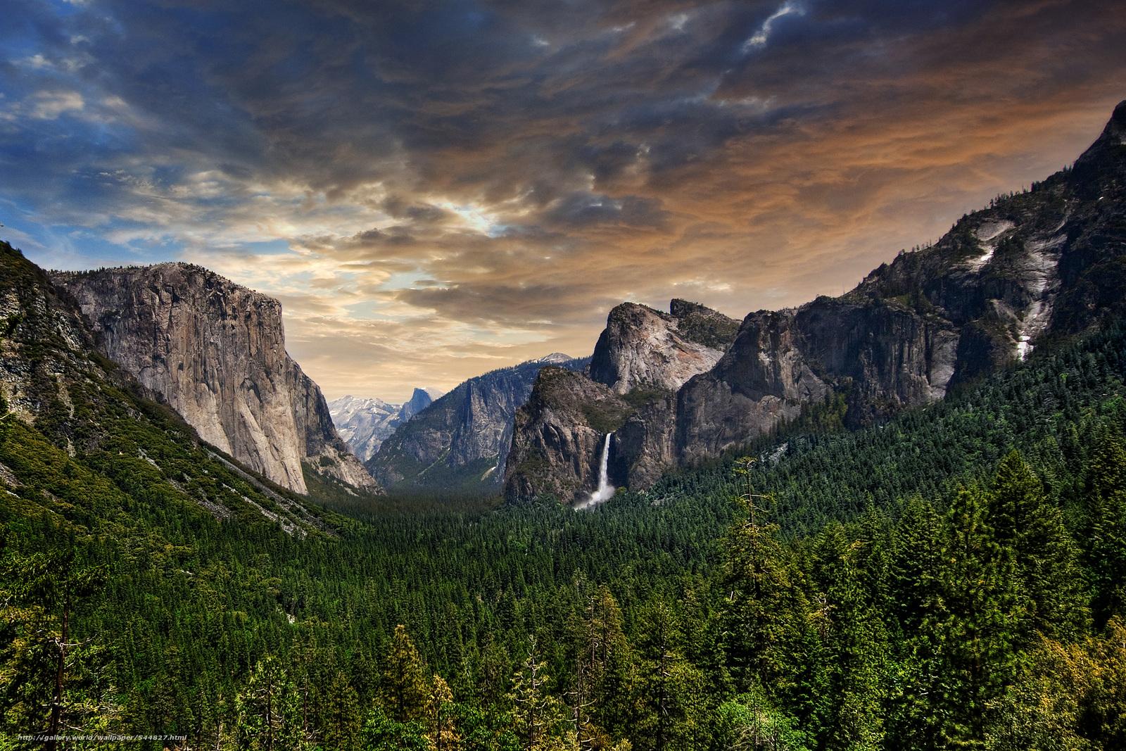 Yosemite National Park, USA, landscape