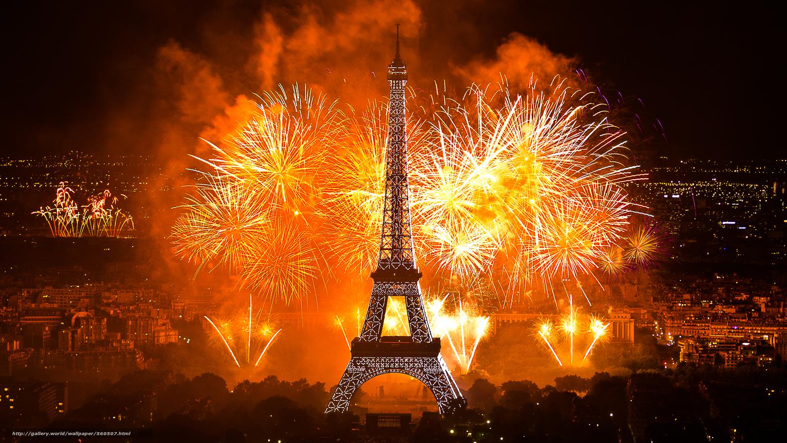 Париж где встречать новый год