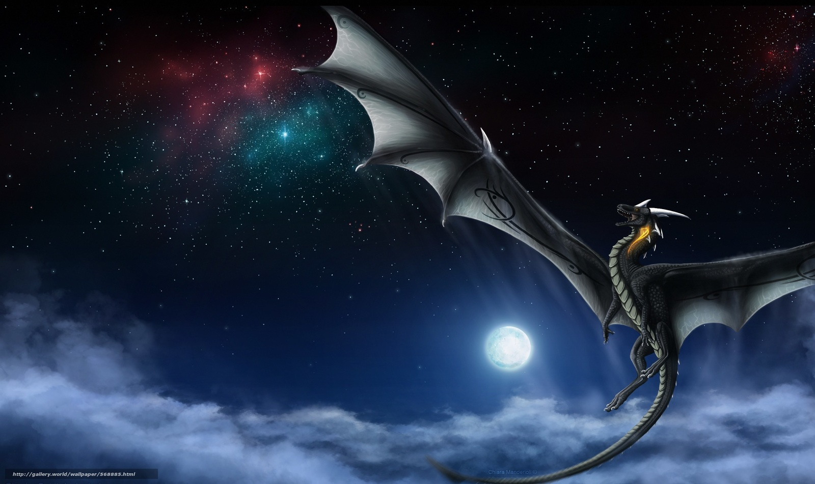 dragons flight across the frozen seas