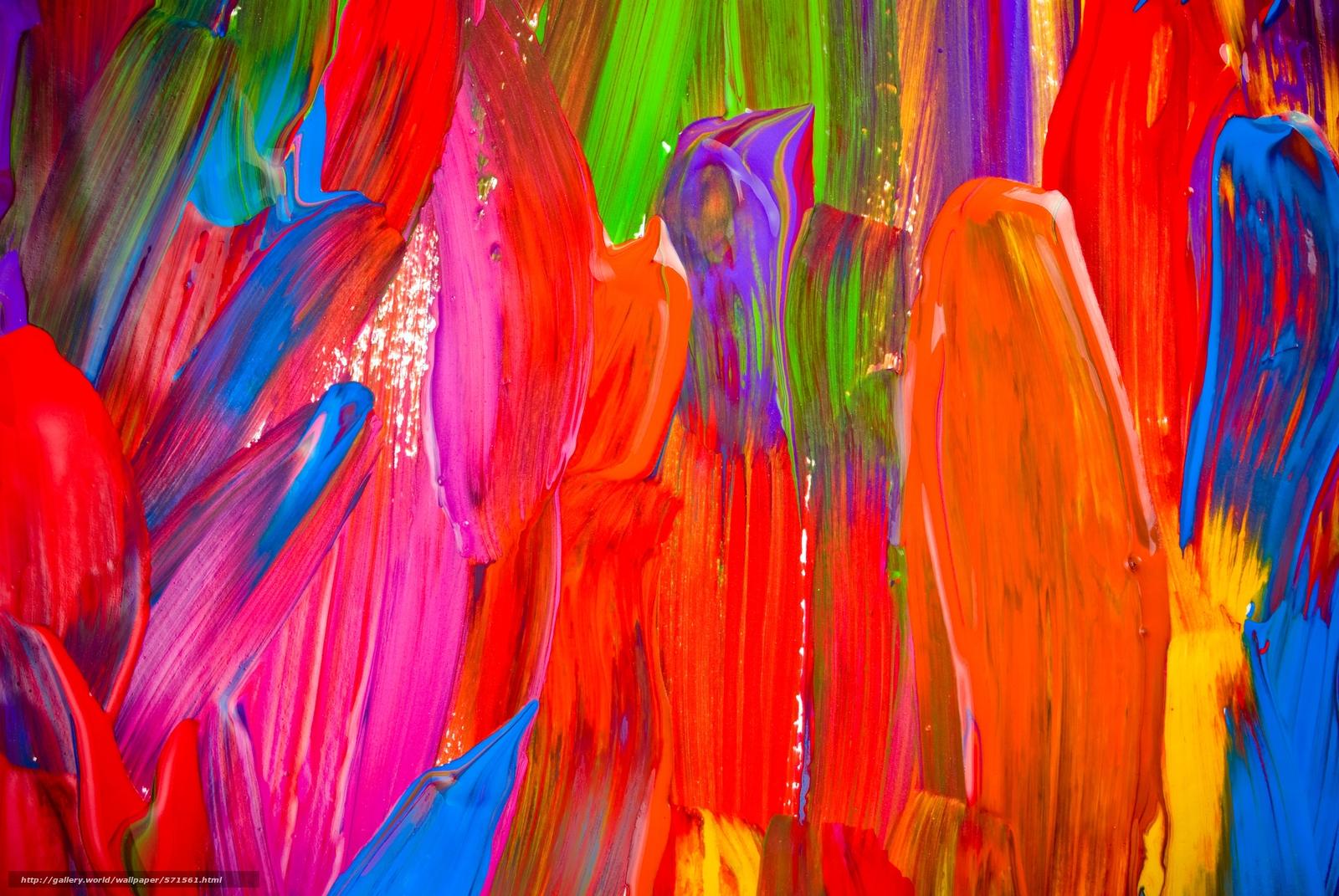 Текстура, краска, мазки - #571561