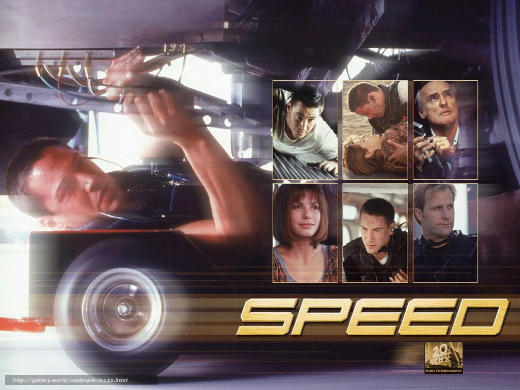 Speed year: 1994 director: jan de bont keanu reeves sandra bullock