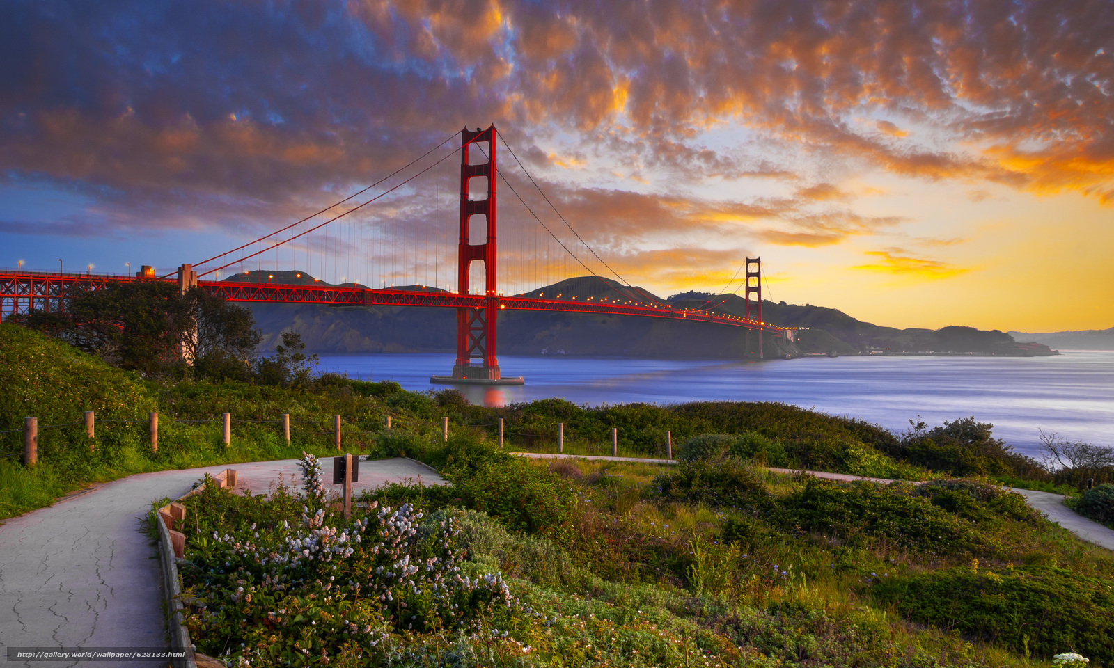 The Golden Gate Bridge, the Golden Gate, Frisco