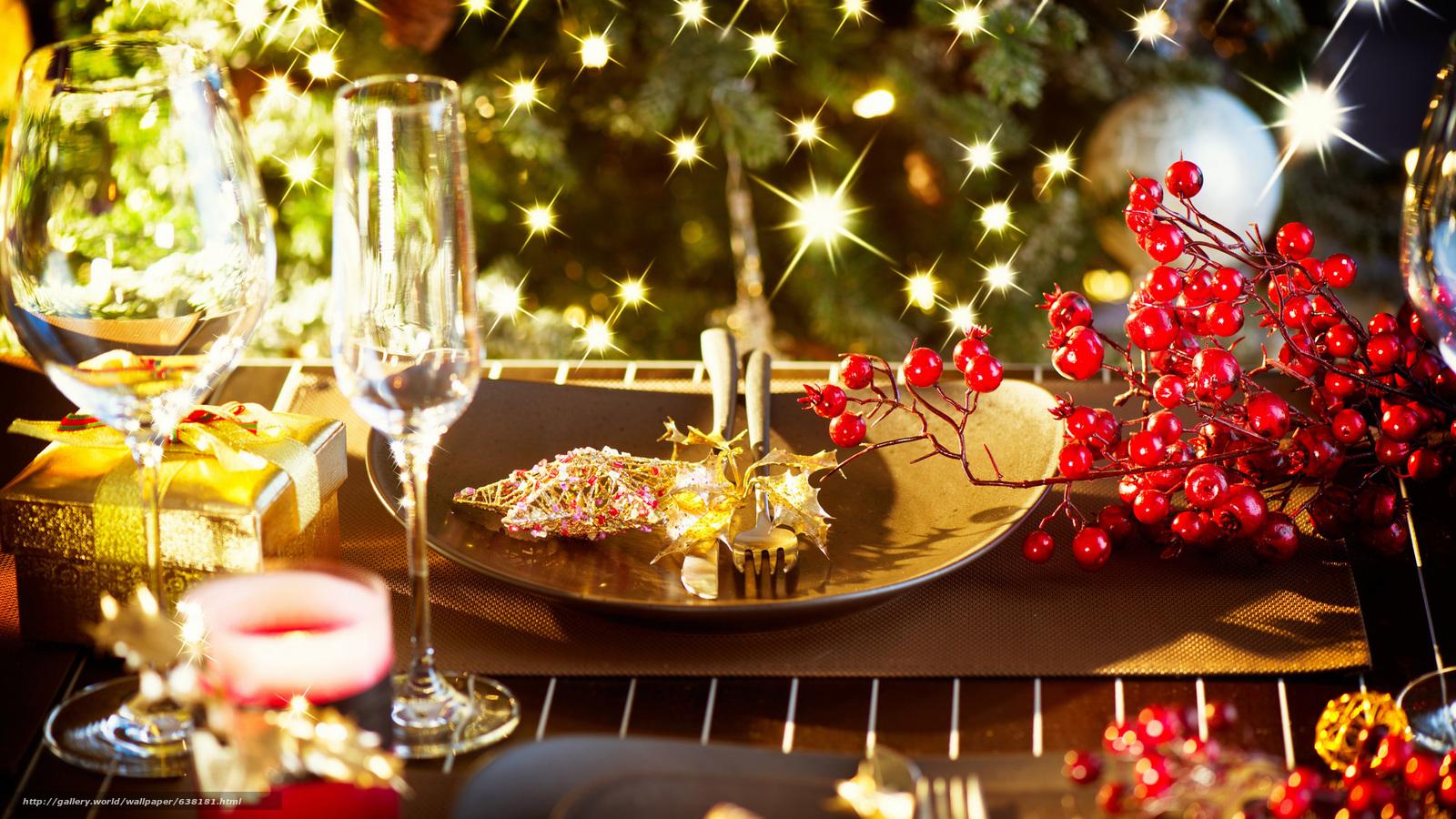 обои для стола с новогодней темой № 634971  скачать