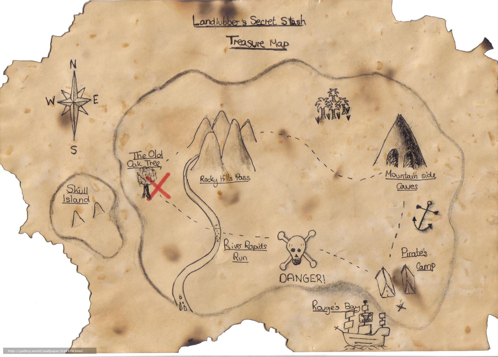 Как сделать карту старую