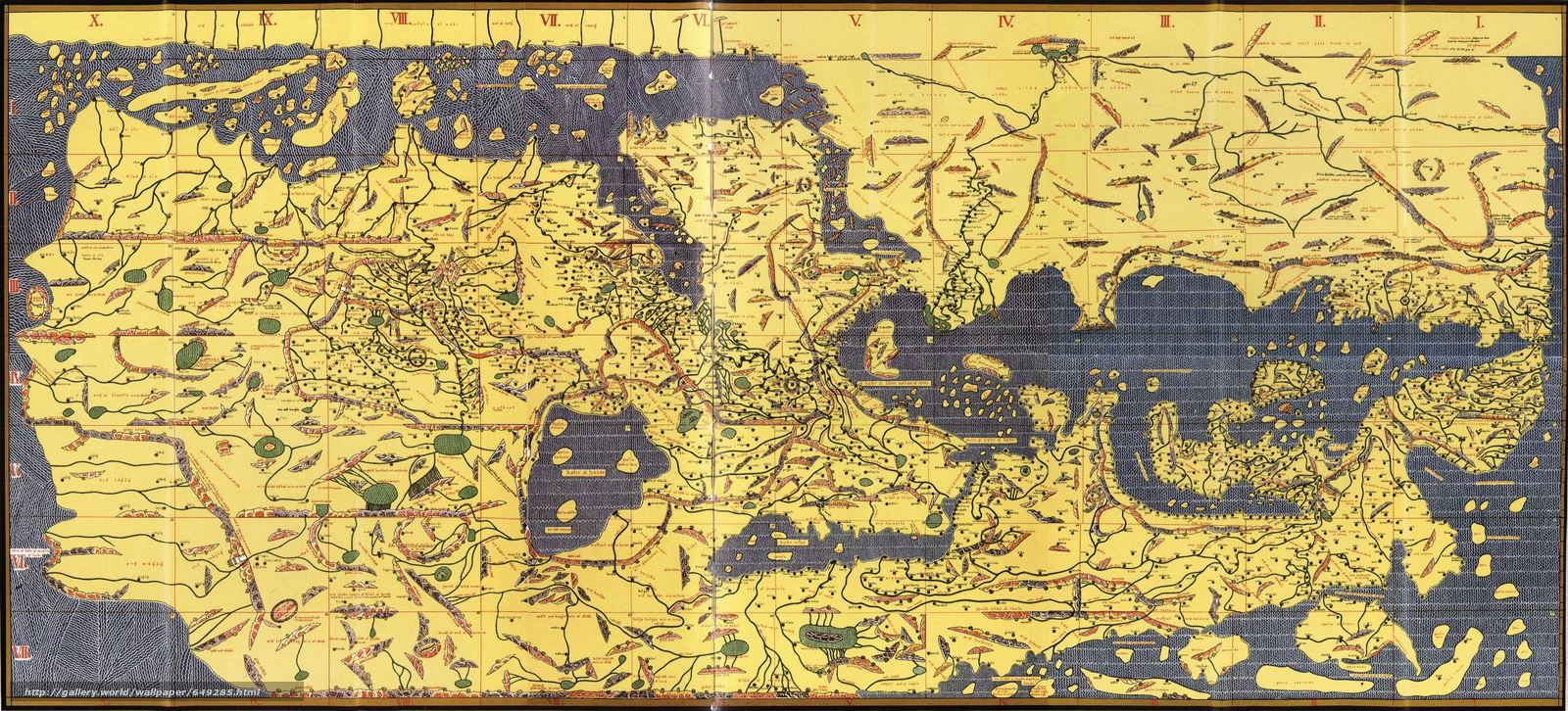 map and cartography