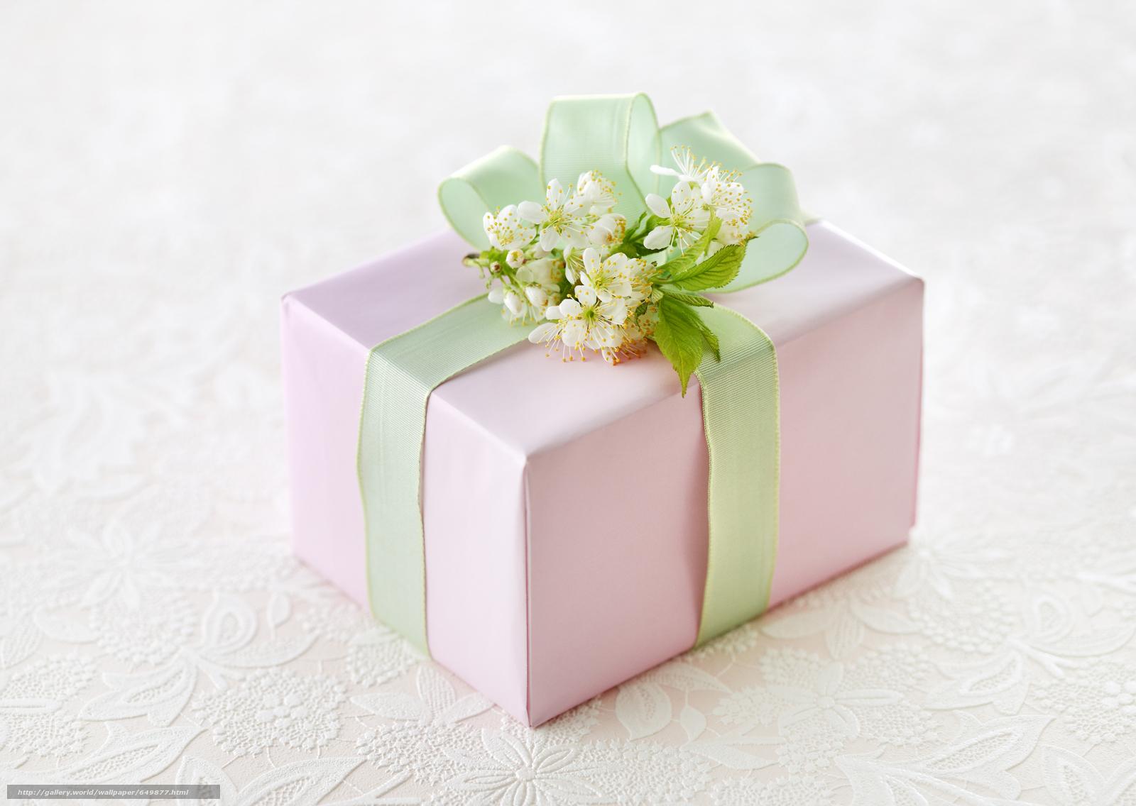 Подарок что подарить к цветам