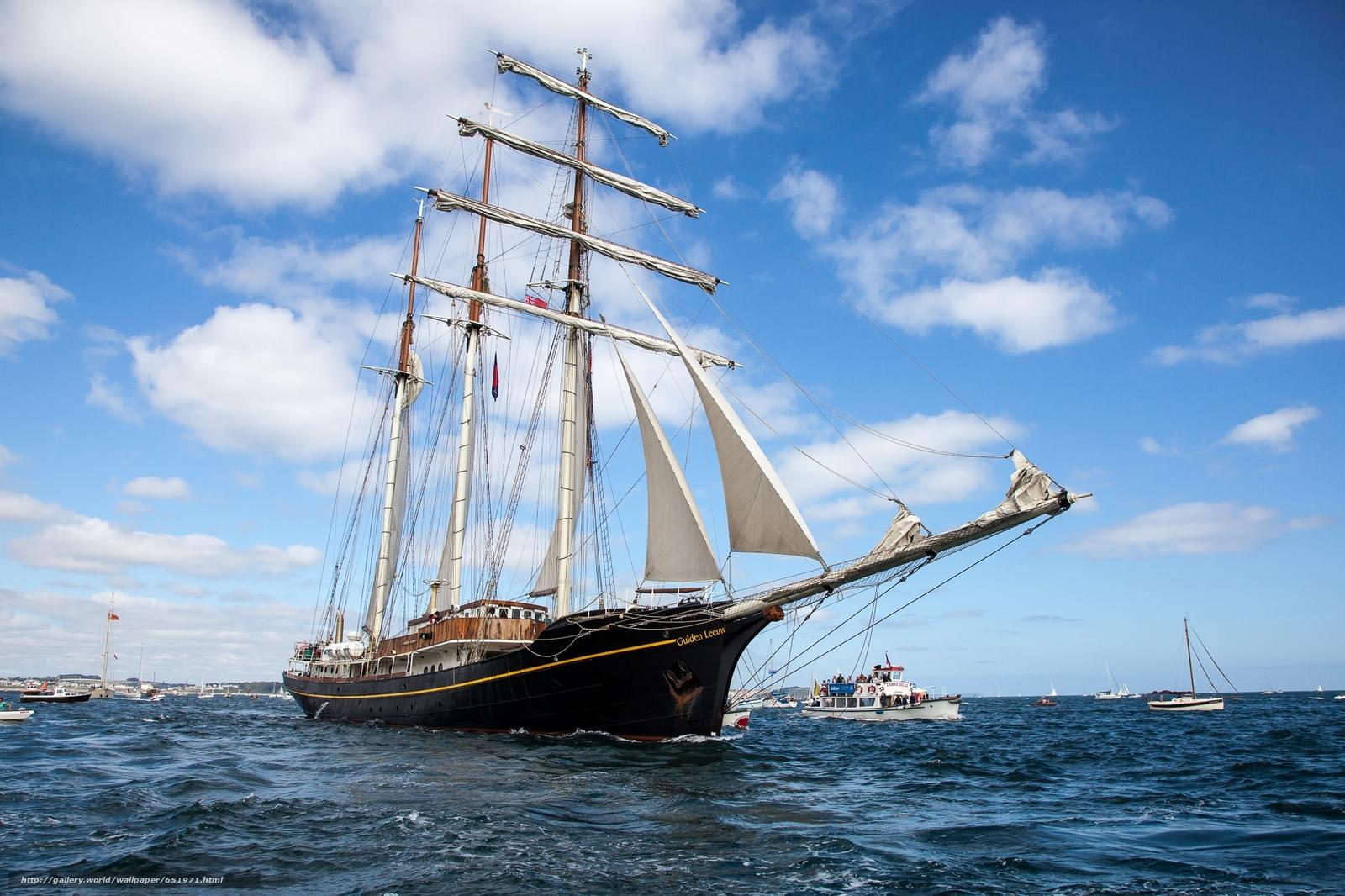 Gulden Leeuw, sailfish, ship, Netherlands