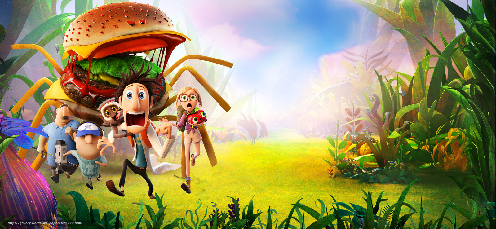 Clear ... 2 Revenge of GMOs, Cloudy with a Chance of Meatballs 2, Cartoon, Fantasy, comedy, family