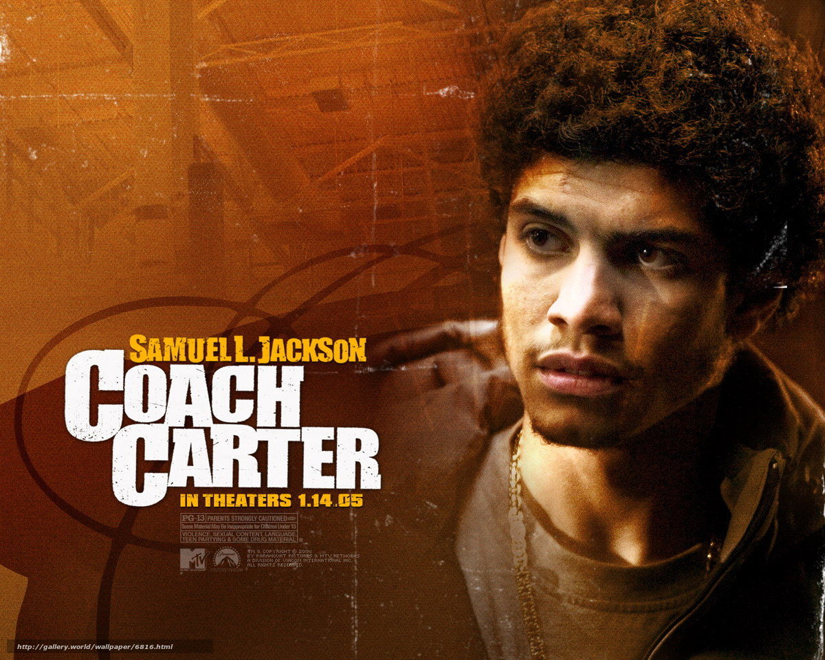 character analysis in coach carter Analysis to what extent is the stereotypical representation of black people challenged with particular reference to coach carter of character roles as.