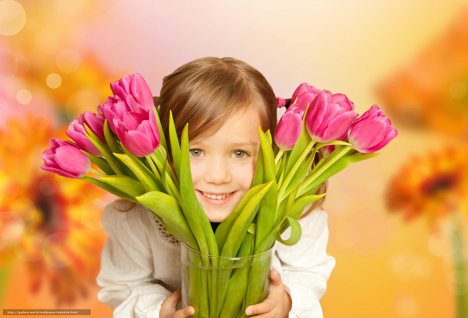 Фото цветы для девочки