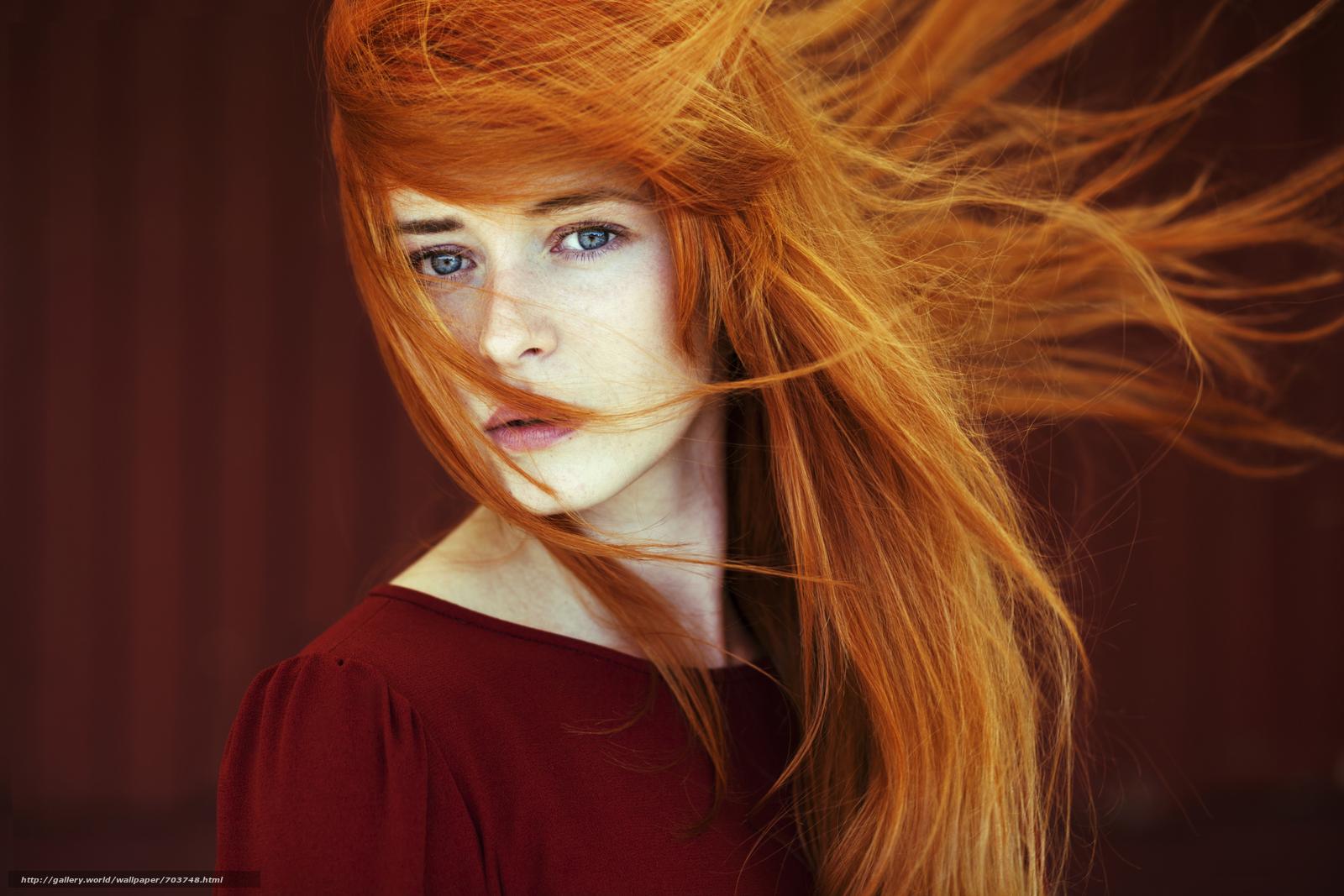 красивые рыжие девушки картинки найдете
