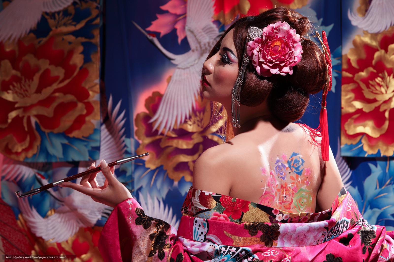 Фото открытых у японок, Красивые обнаженные японки (38 фото) 12 фотография