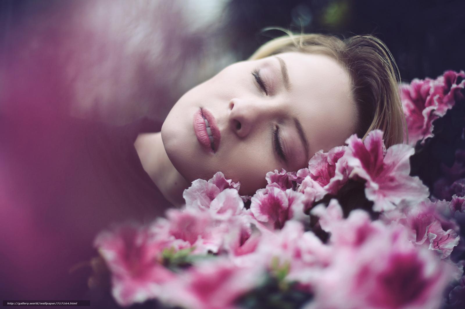 ручной установке сон девушка с цветами текст перевод песни