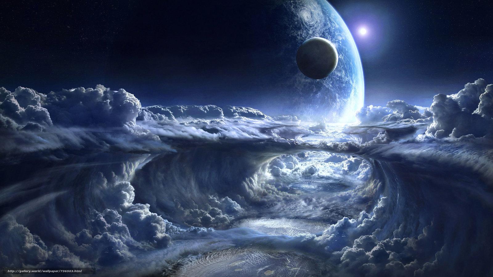 космос, планета, Необъятные просторы космоса