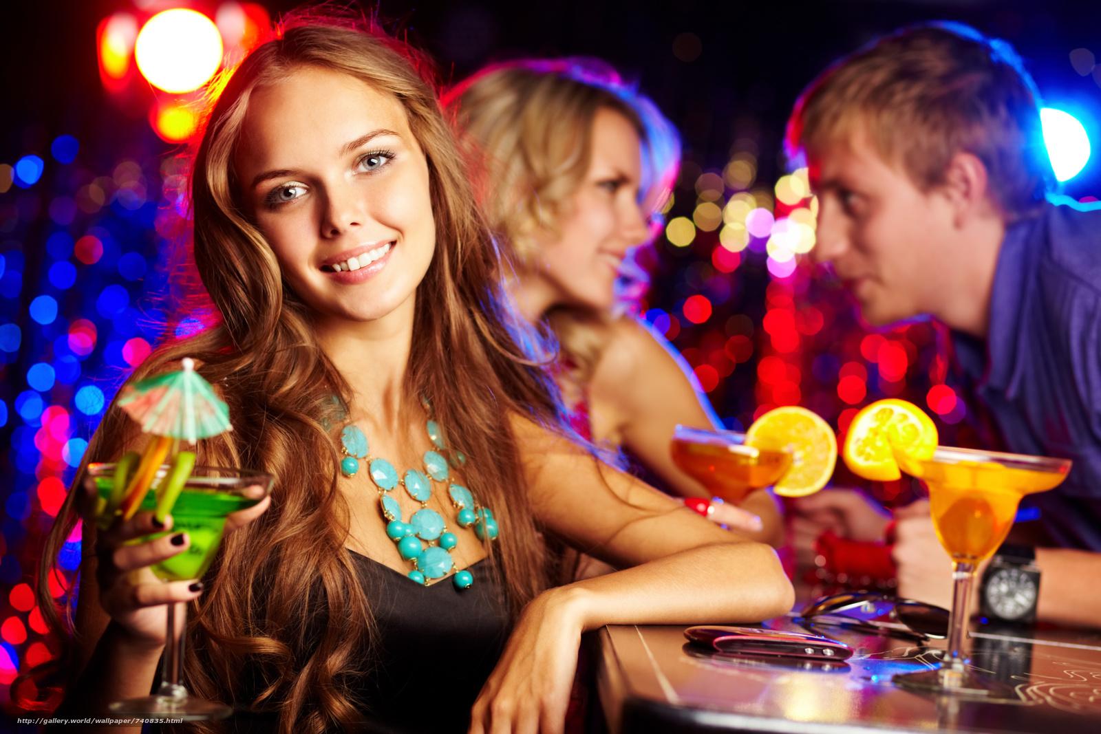 Вечеринка с красотками вам