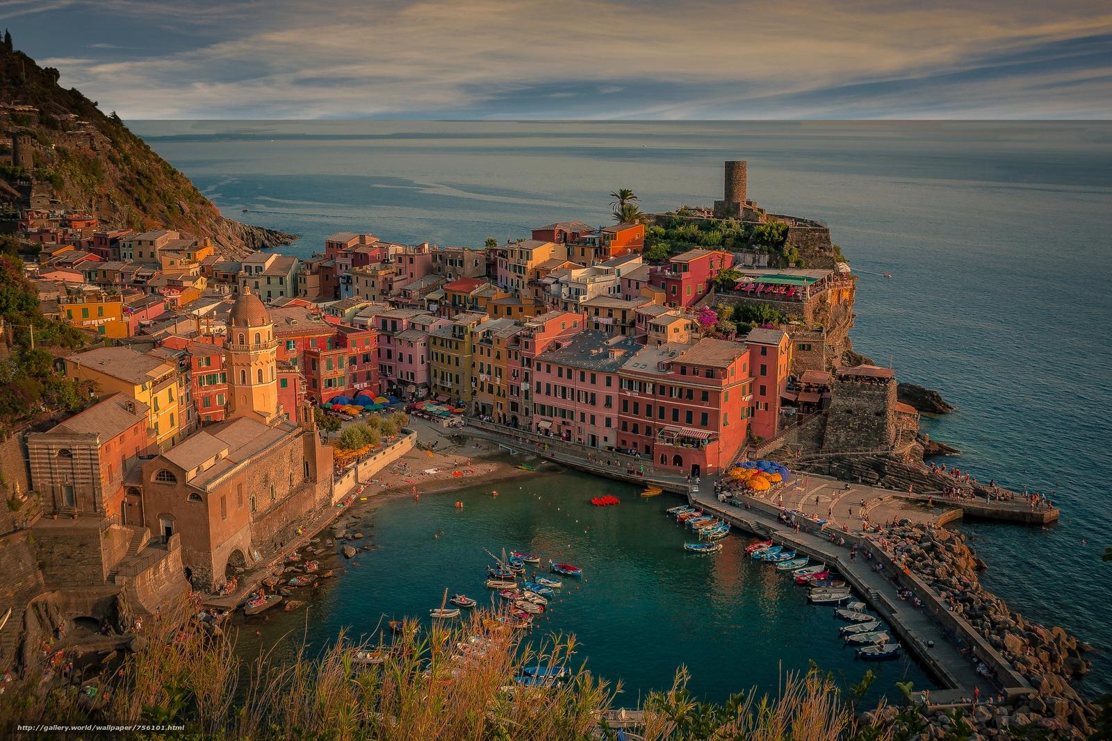 Vernazza, Five lands, Vernazza, Cinque Terre, Italy