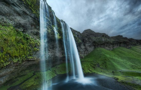 nature, landscapes, wallpaper, photo, waterfalls, water, spray, rocks, stones