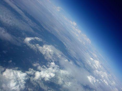 облака, атмосфера, наклон