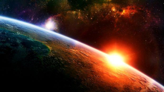 planet, lumina, Stea