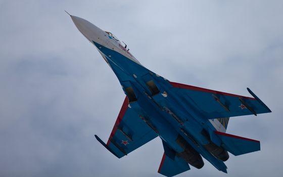 uscat, Su-27, zbor