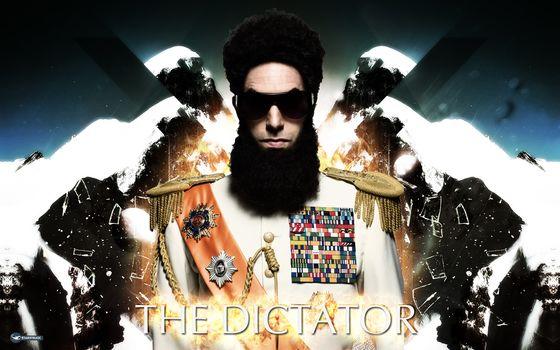the dictator, wallpaper, film, starstruck, DICTATOR, man, Sacha Baron Cohen, wallpaper