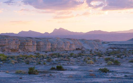 USA, Nevada, North Las Vegas, desert, Mountains