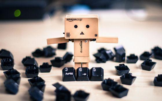 box, keyboard