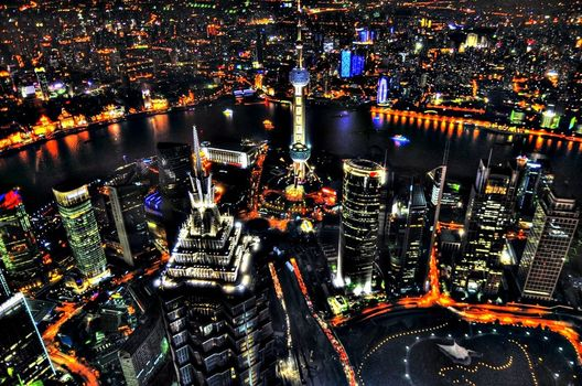 city, mood, night