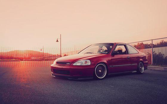 Honda, Civic, honda