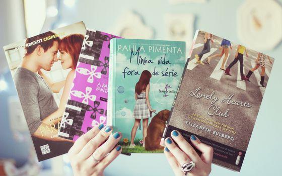 Books, hands, mood