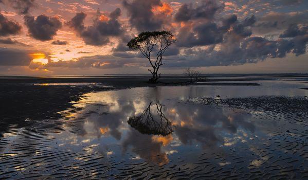 Australia, sky, sunset