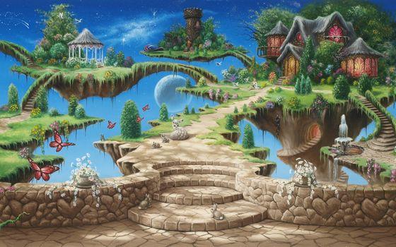 Fantasy, nika, fantasy art