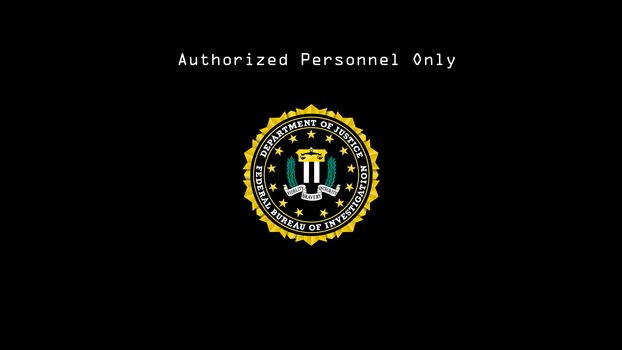 FBI, borne, logotip