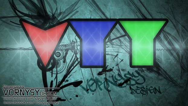 vornysydesign, red, blue, green, graffiti, abstraction, light, wallpaper, HD, 1920x1080, style