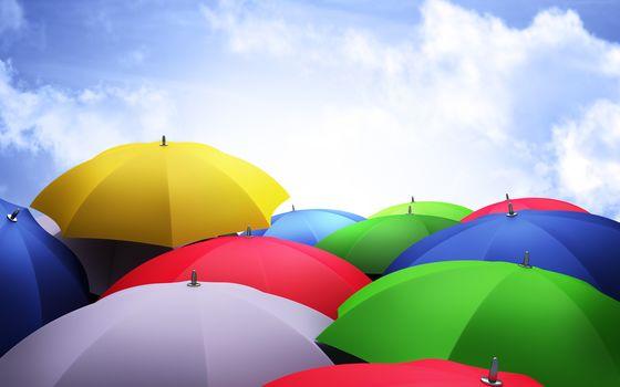 Для сайта с зонтами